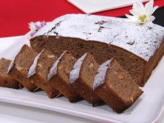 Torta Panetela de chocolate