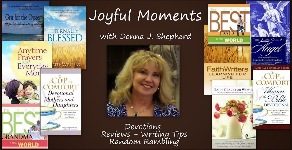Joyful Moments with Donna J. Shepherd