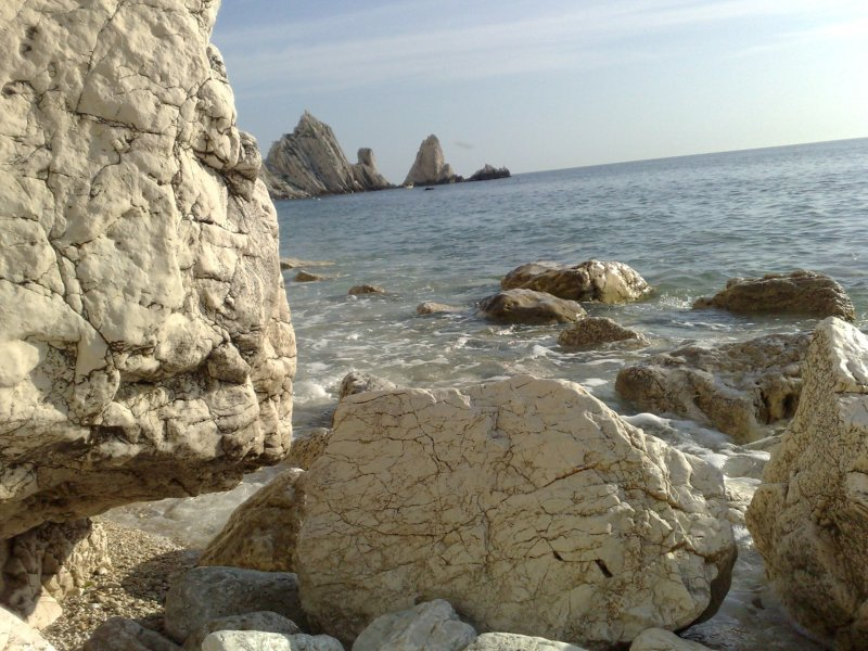 Sirolo spiaggia delle Due Sorelle