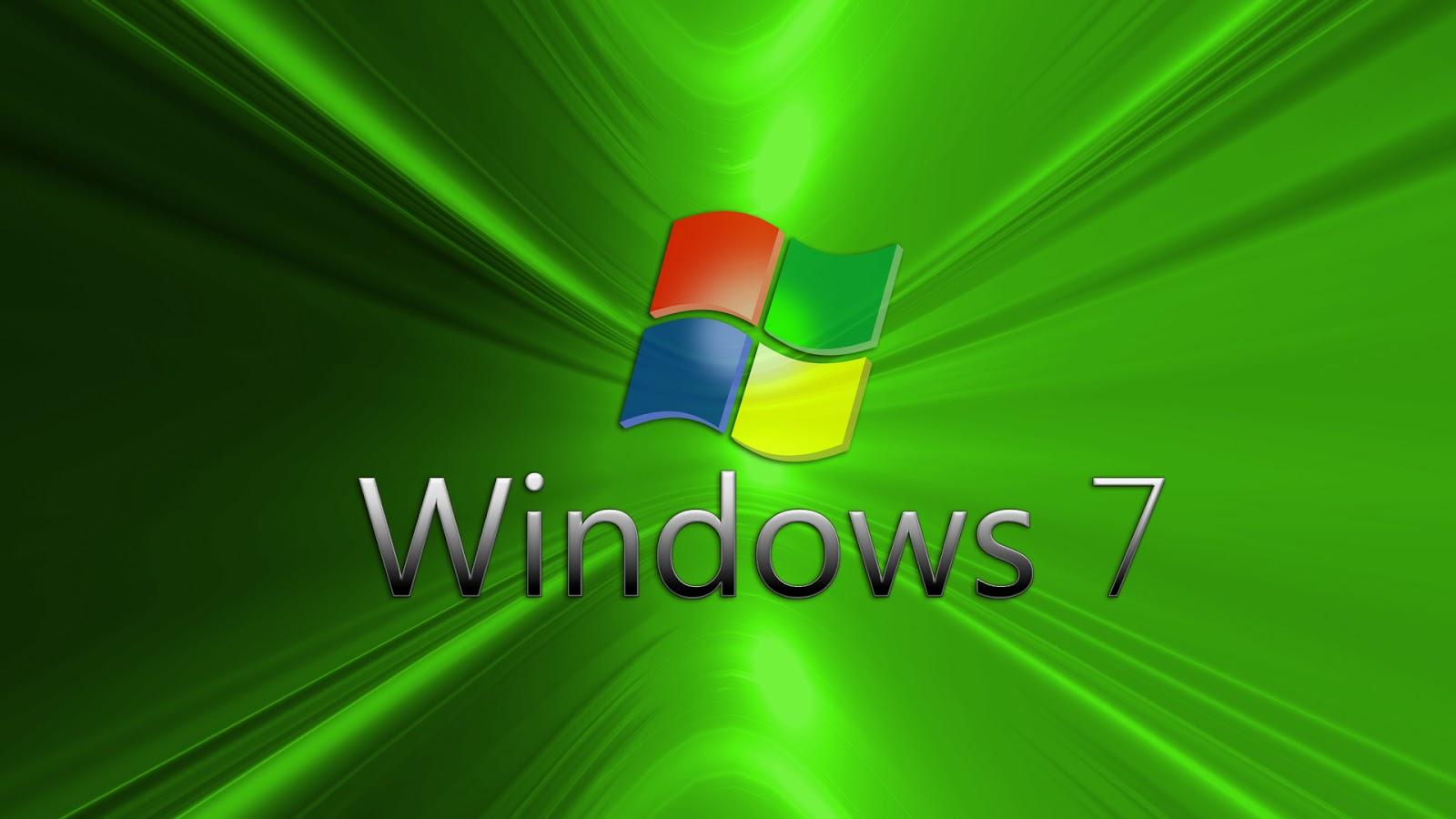 Fondo de pantalla windows 7 verde - Fondos de escritorio para windows 7 gratis ...