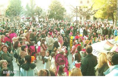 Fiesta carnaval Binéfar.