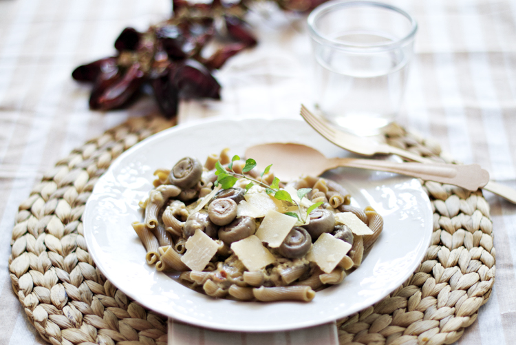 torceti1 Torcetti con salsa picante de champiñones y parmesano