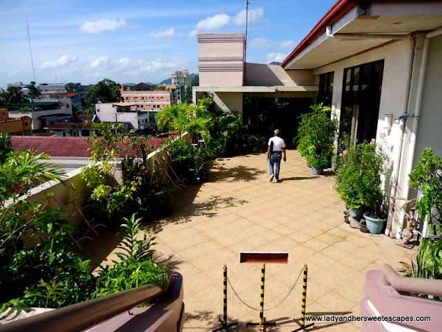 rooftop at Hotel Alejandro Tacloban
