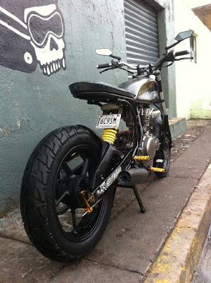 """Suzuki GN 250 """"SuperMotard"""""""