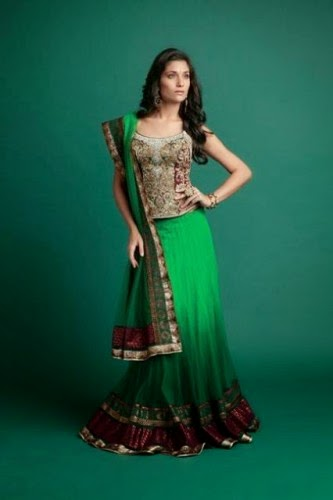Indian Ghagra Choli Collection 2015