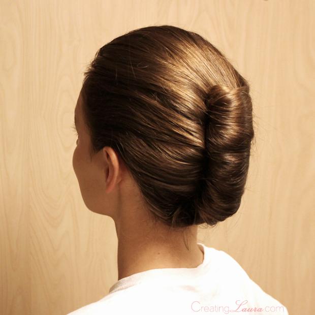 creating laura bridesmaid hairstyle
