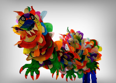 arteascuola: Collaborative Dragon!