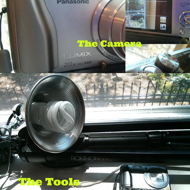 photography tools camera tripod work lamp