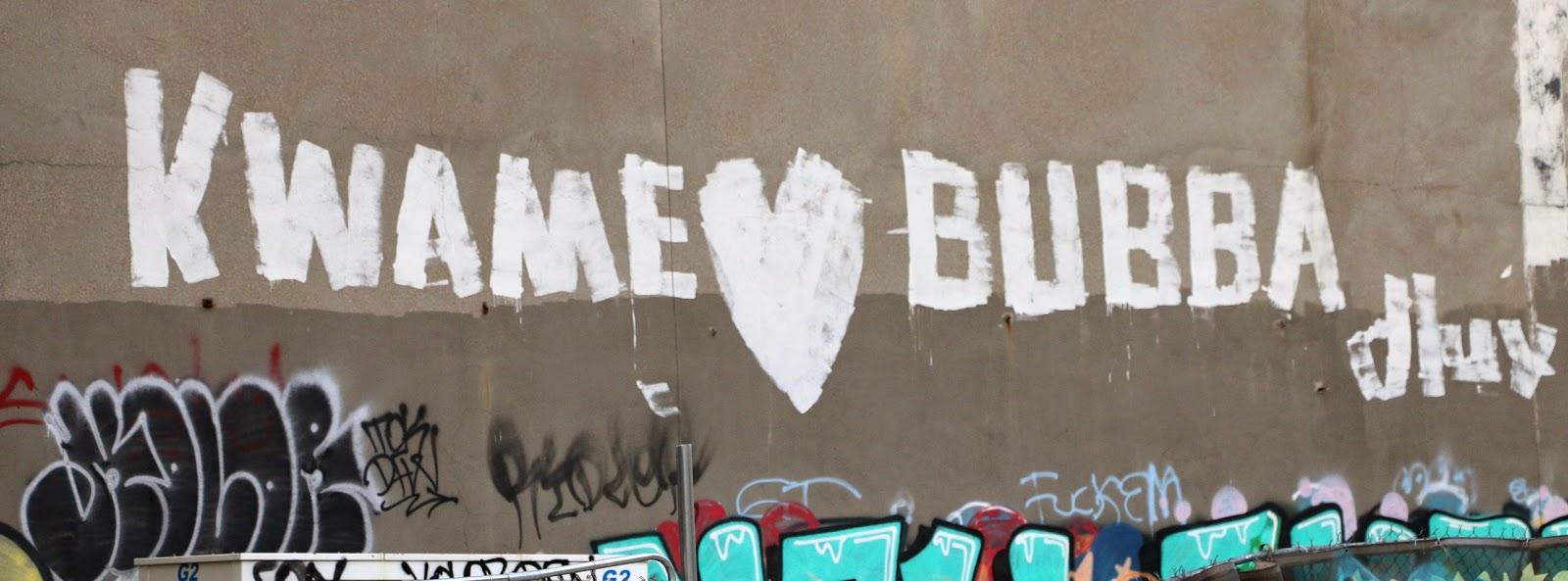Detroit graffiti art oh kwame for Enjoy detroit mural