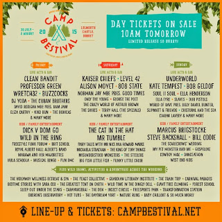 Camp Bestival Day Tickets On Sale