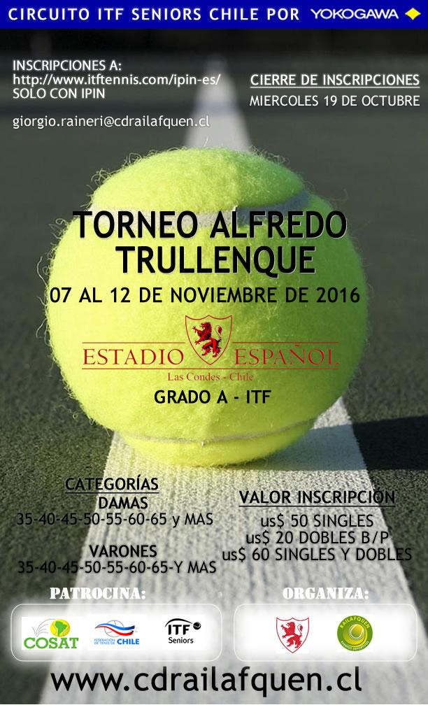 "ITF SENIORS G""A""-COPA TRULLENQUE -SANTIAGO CHILE"