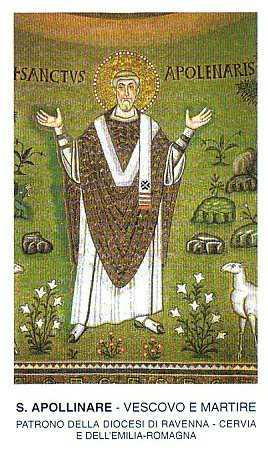 Saint-Apollinaire de Ravenne, évêque et martyr dans images sacrée apollinare