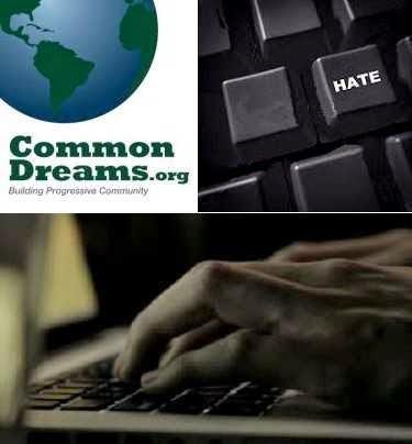 Common Dreams target of hateful anti-Semitic posts