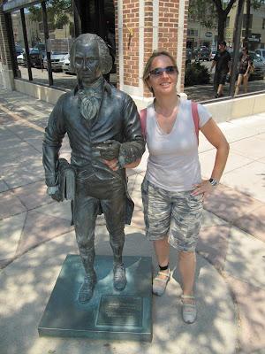James Madison statue, estatua de James Madison