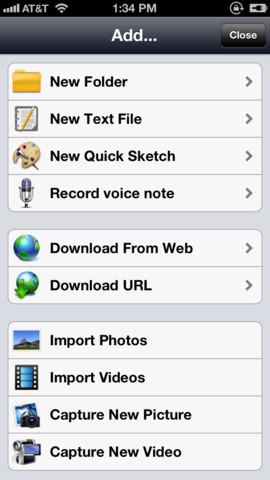 Awesome Files (iExplorer Mobile)