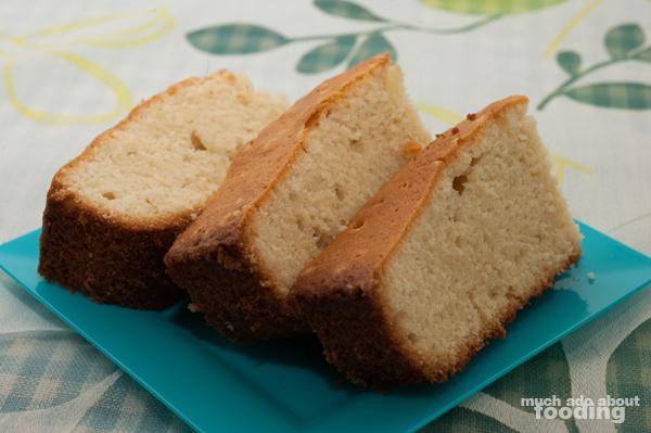Test Kitchen - Amaretto Pound Cake | Much Ado About Fooding