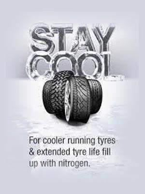 Nitrogen filling in tyre pune