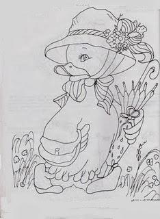 desenho de patinha com chapeu para pintar