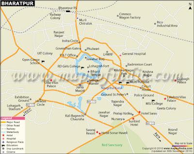 Bharatpur Map