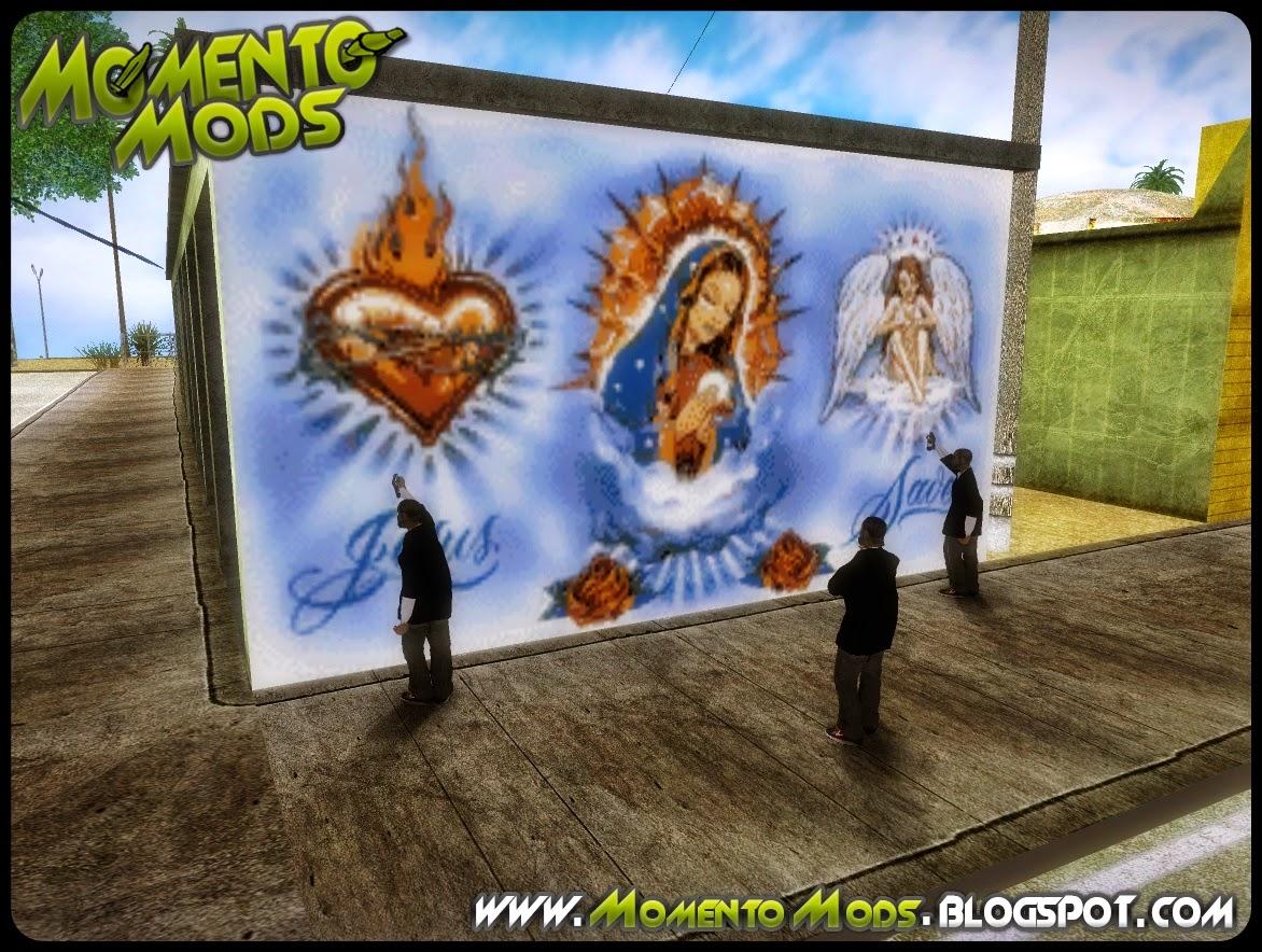 GTA SA - Mod De Grafiteiros