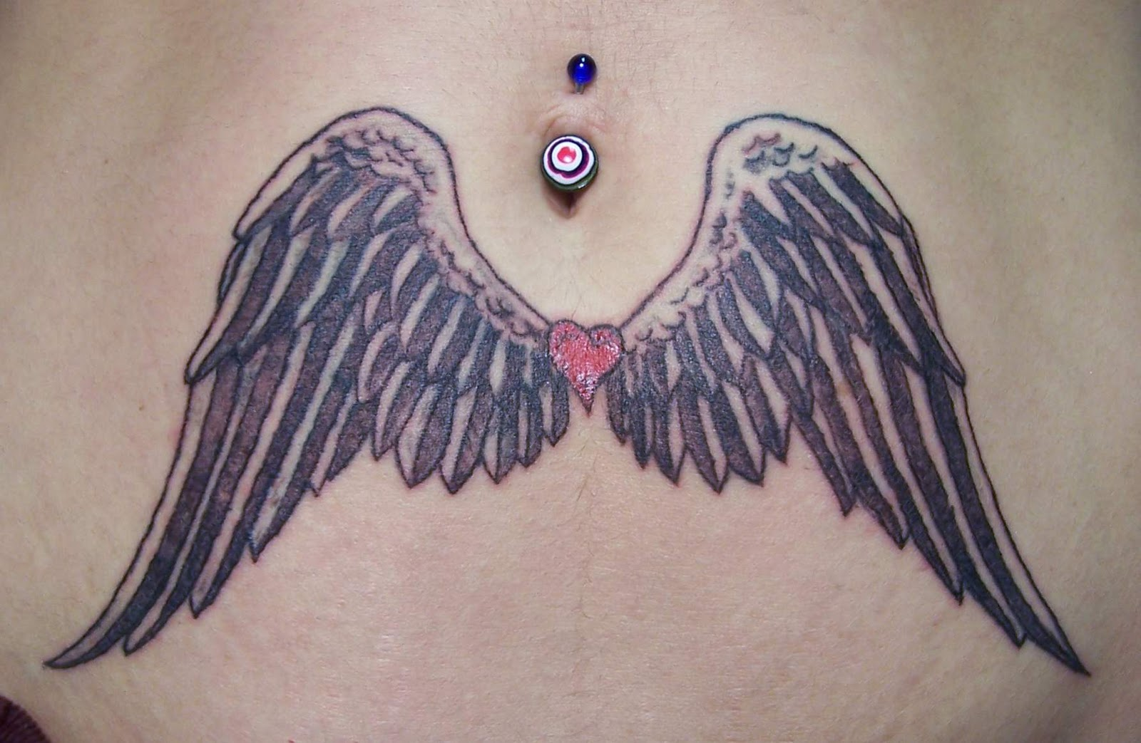 Tattoo today 39 s angel wings tattoo designs for girls for Angel wings girl tattoos