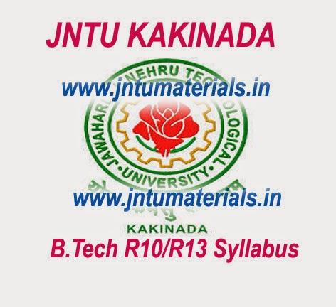 JNTUK 1-1 Syllabus – JNTUK 1st Year Syllabus for CSE-IT-ECE-EEE-Mech-Civil branches