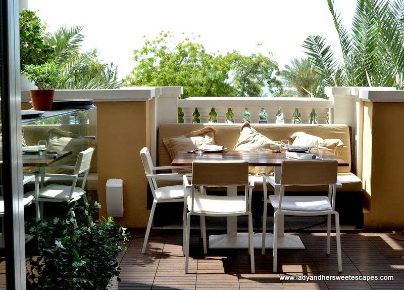 al fresco dining at El Sur Dubai