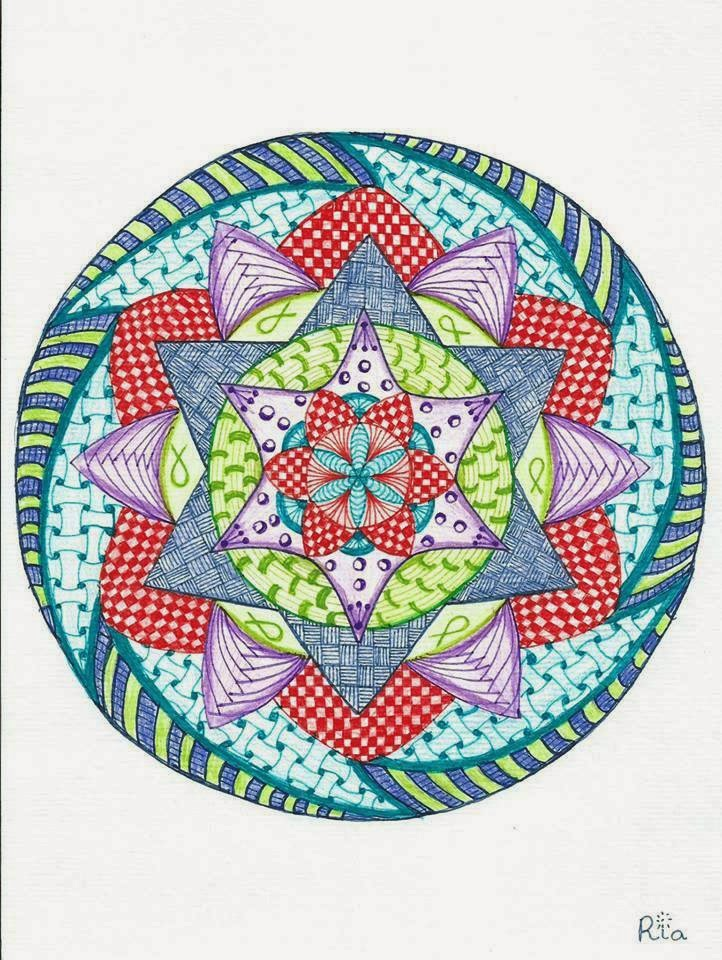 zentangle, zendoodle, mandala