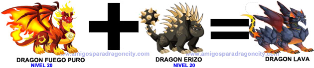 como sacar el dragon lava en dragon city-2