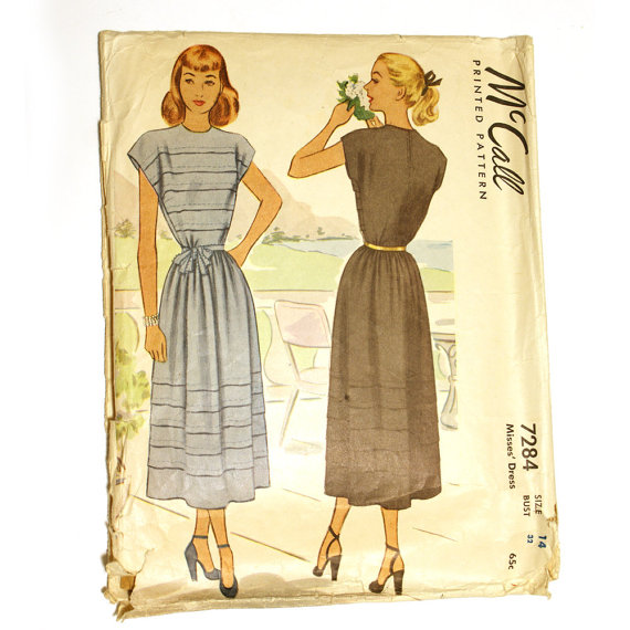 1940s sundress sewing pattern Just Peachy, Darling