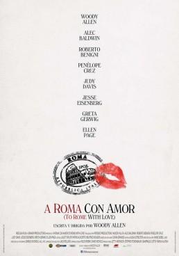 A Roma con amor poster pelicula