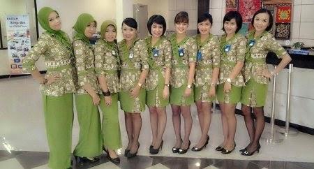 Kumpulan Model Baju Batik Seragam Bank