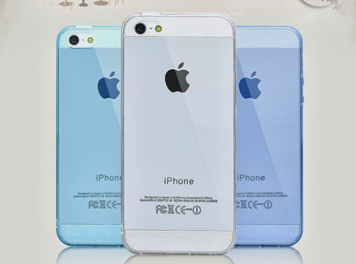 3hiung Grocery: Iphone 5s clear handphone case