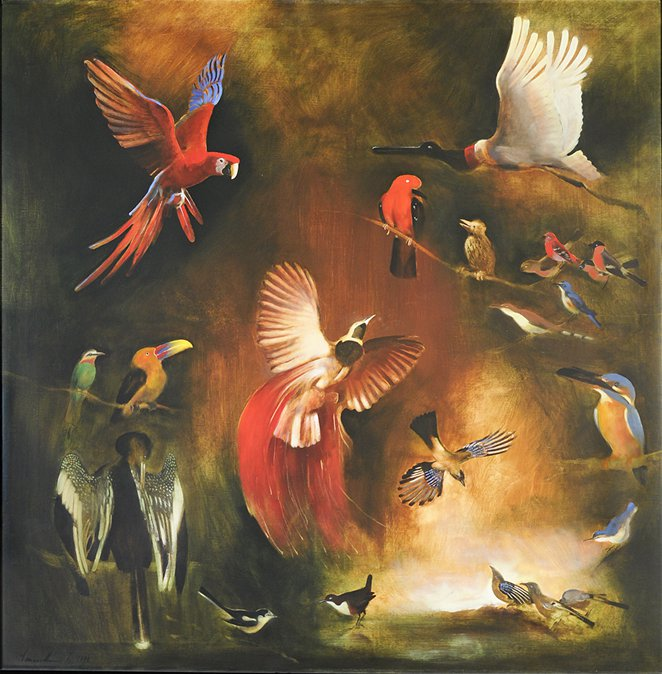 Obras de Arte: Imre Vinczellér,imágenes surrealistas figurativas