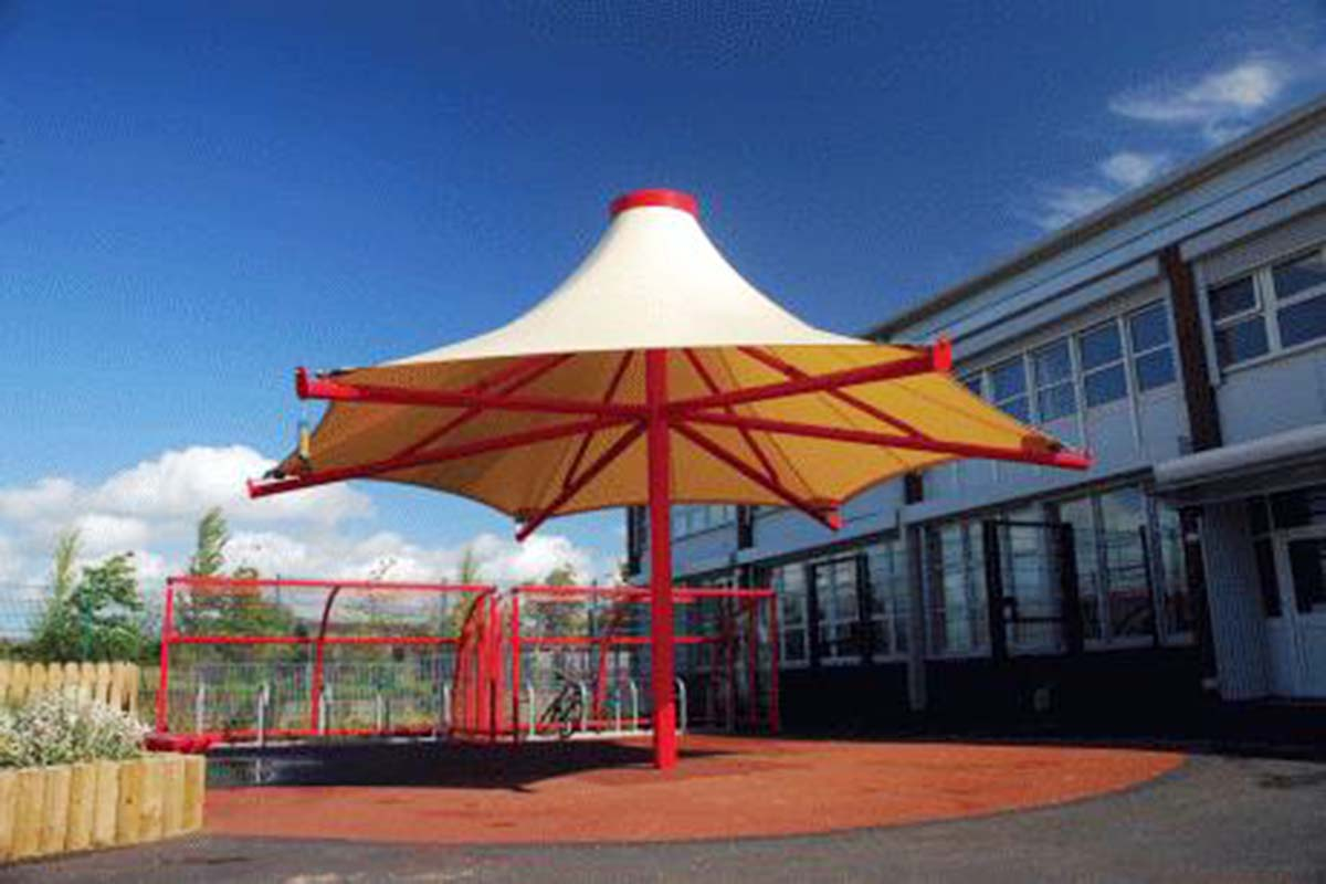 Tensile memberane structure uae tensile shade structure for Shade structures