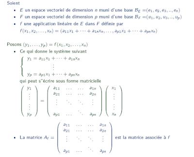 Contrôles avec corrige Algèbre 2 smpc s2