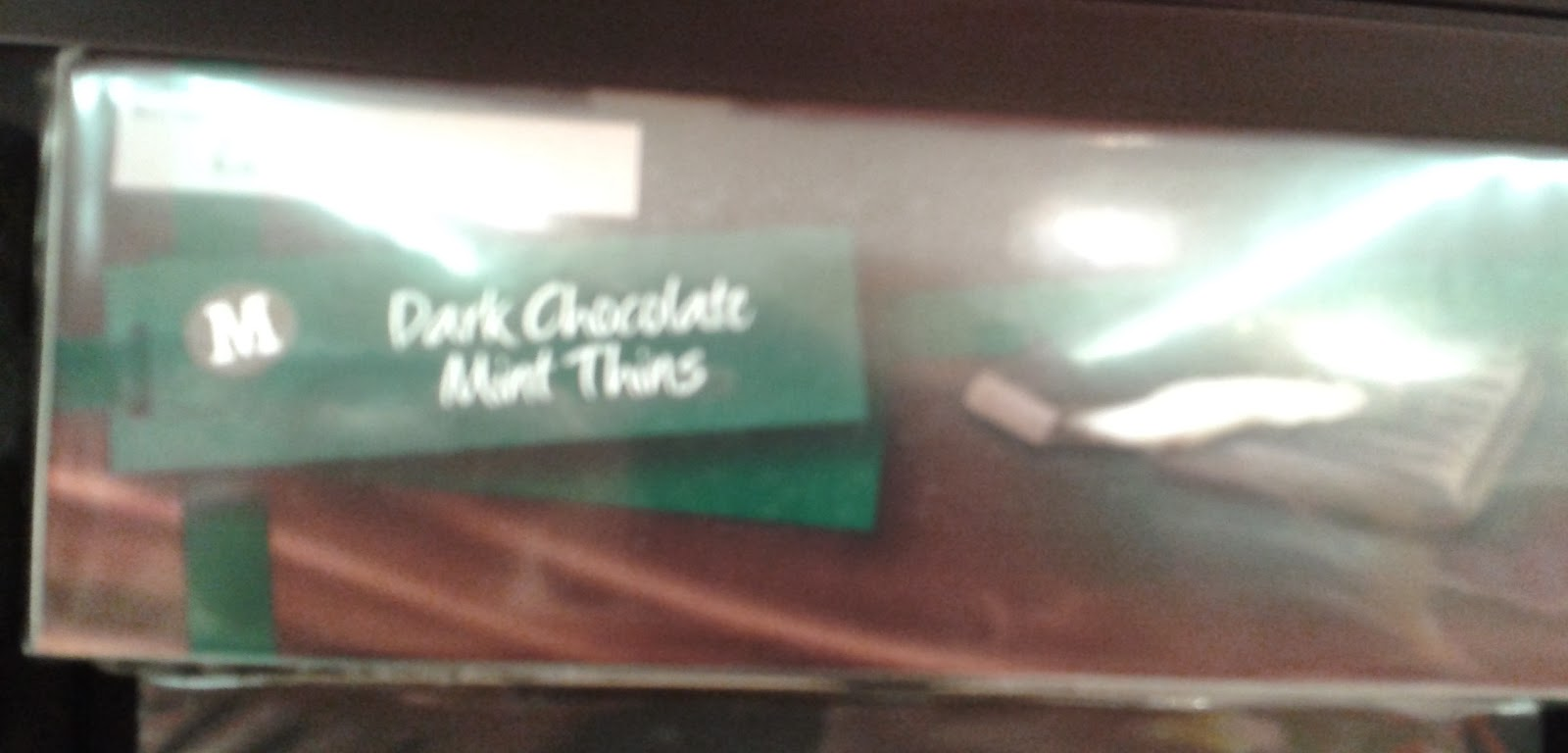 Morrisons mint thins and orange thins