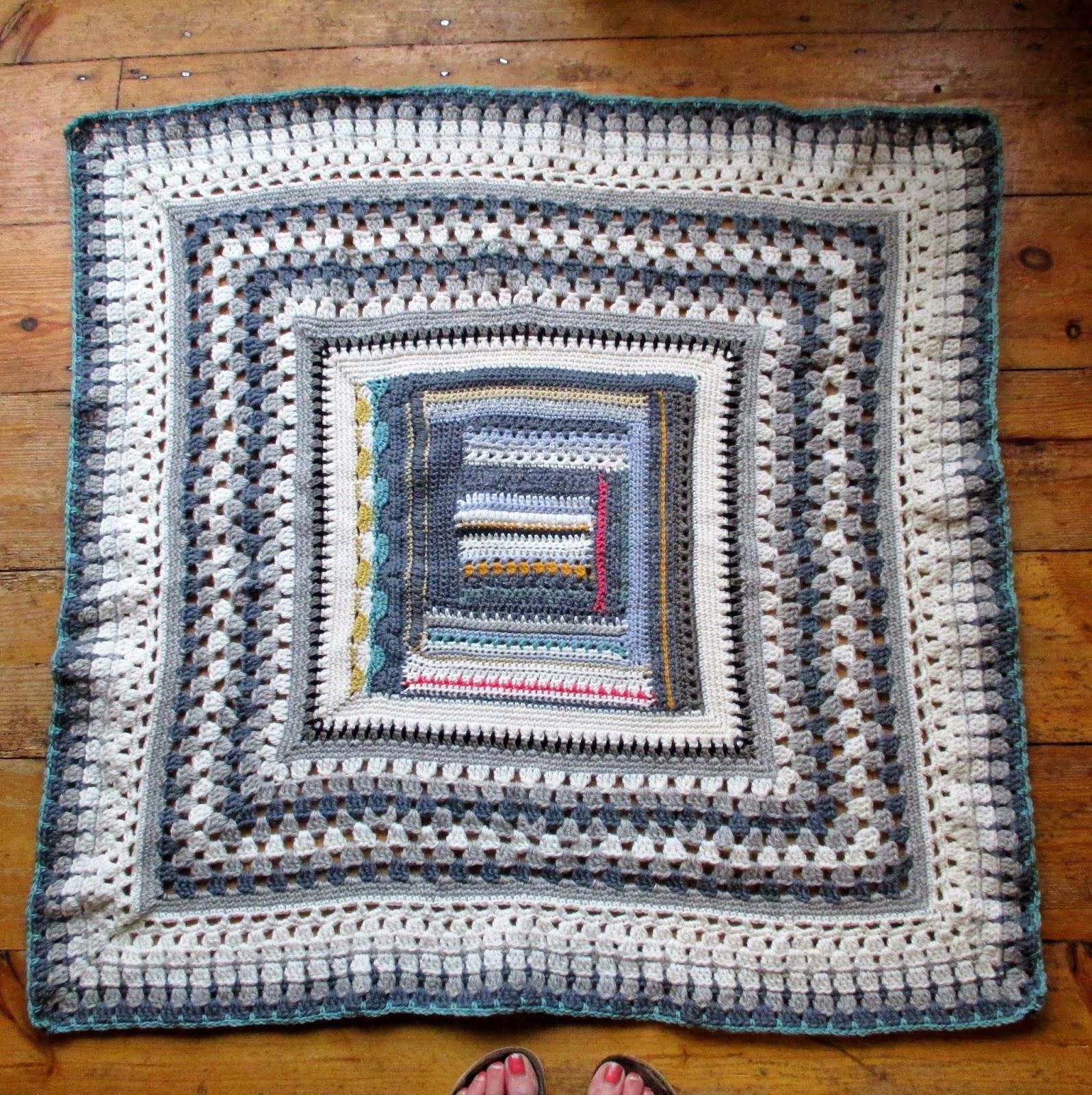 How to finish crochet