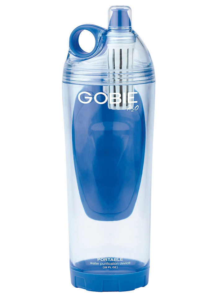 7ff90734d0 I RUN, THEREFORE, I AM: Gobie Water Bottle