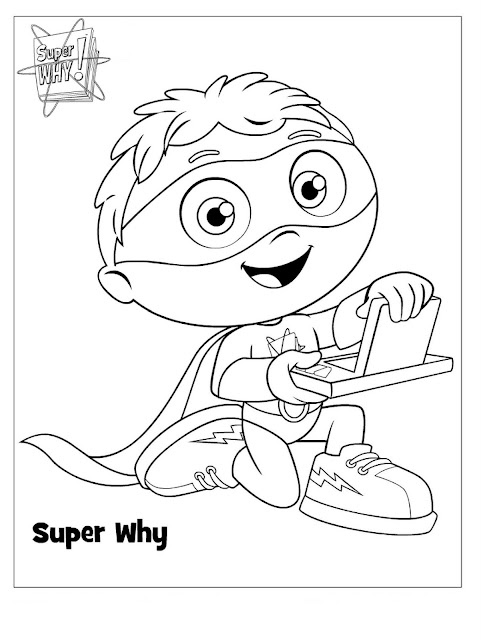 Agile image for super why printable