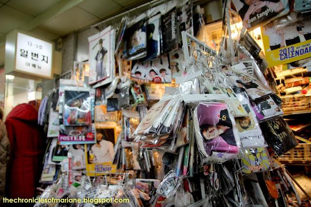 seoul kpop merchandise