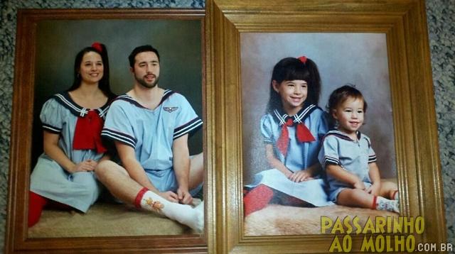 antes e depois, mesma foto, tempo, anos
