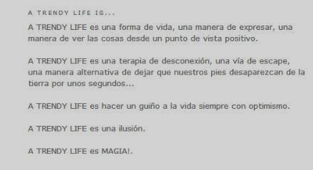 BLOGTILLEA TO MAQUÍS AND CO: A TRENDY LIFE