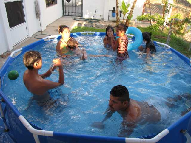 House Building In Pinal Villa Costalegre Keeping The Pool