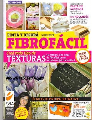Revista: Pinta y decora Fibrofácil No. 1 [PDF | Español | 9.8 MB]