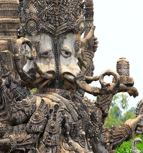 Nong Khai statue in thailand
