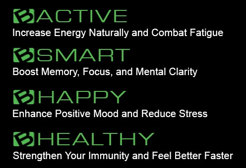 Be Active/Smart/Happy/Healthy