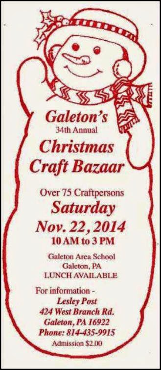11-22 Christmas Craft Bazaar