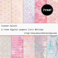 http://www.jenniferscraps.com/2014/04/15/summer-splash-freebie-paper-pack-of-the-day/