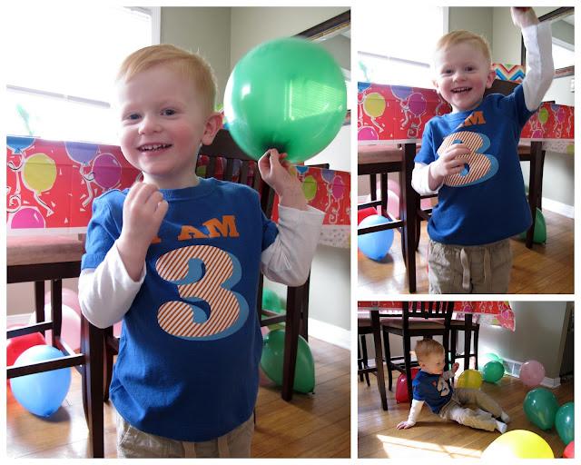 Porter's Birthday Balloons